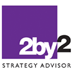 Strategy Advisor | Value through strategy | 2by2 AB Logo